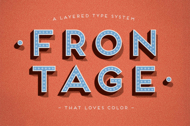frontage complete family fonts