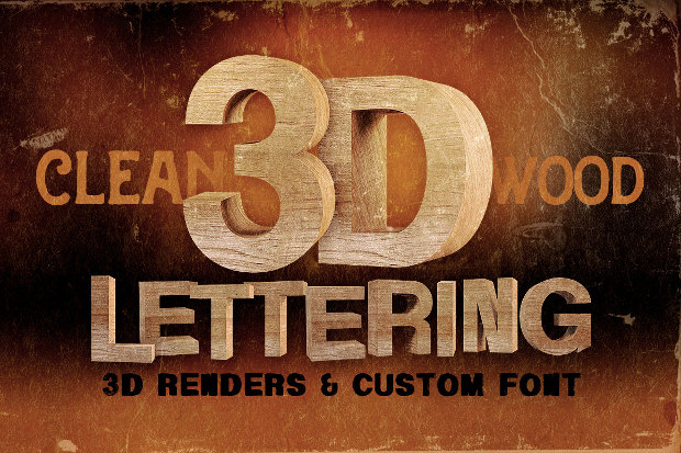 26  3d effect fonts - ttf  otf download