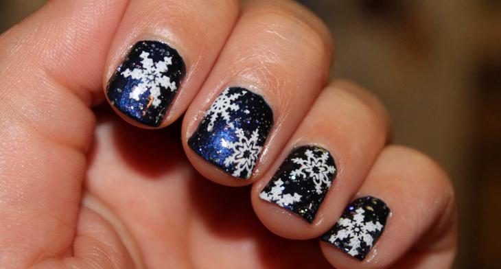 26 Winter Acrylic Nail Designs Ideas Design Trends Premium Psd