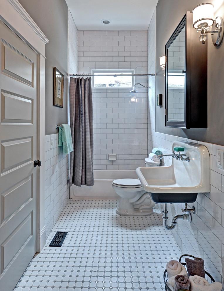 Classy Bathroom Flooring Design