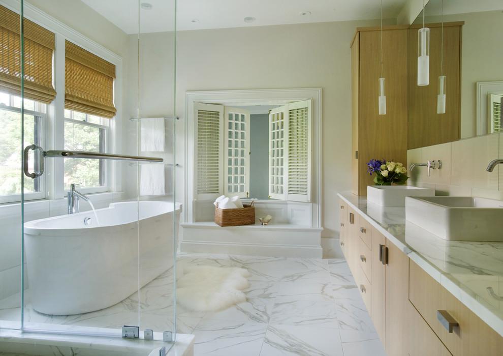 marble bathroom flooring design