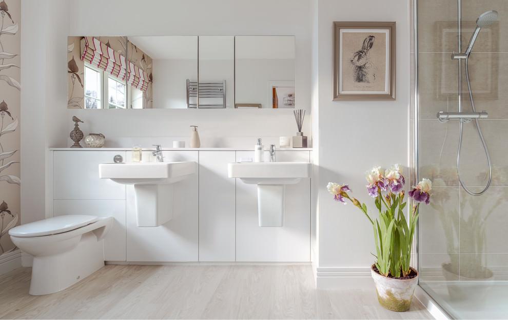 elegant bathroom flooring design