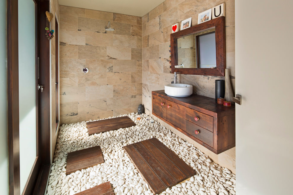 26+ Bathroom Flooring Designs