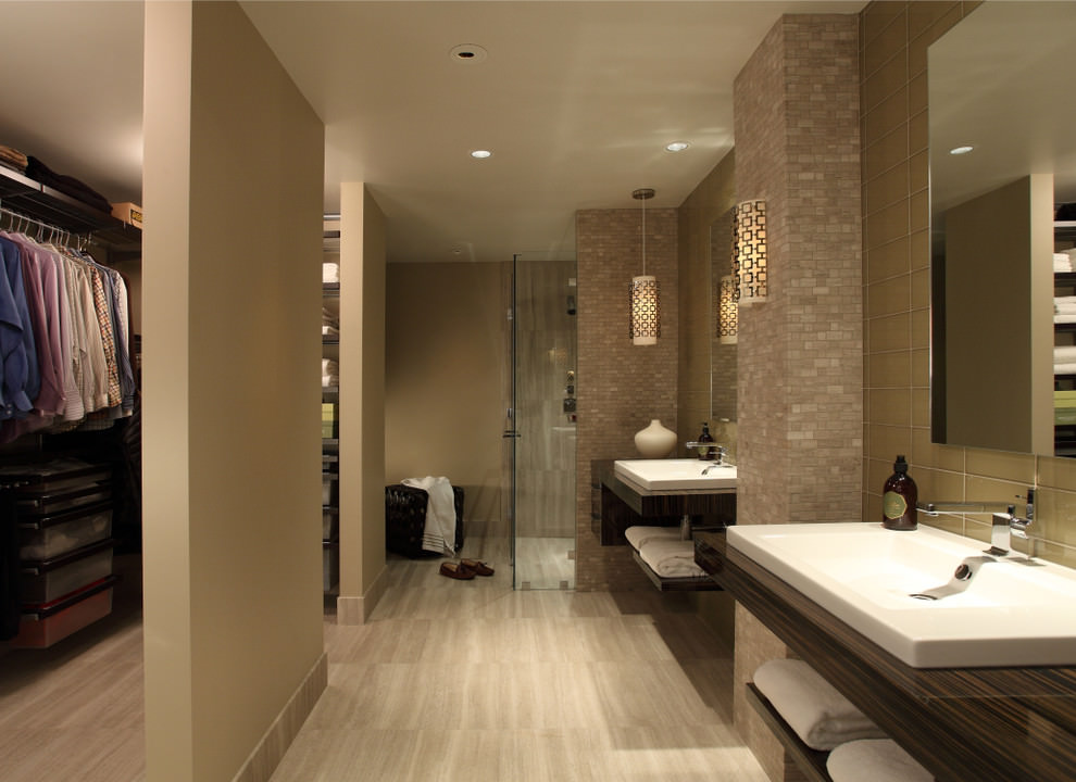 26 bathroom flooring designs bathroom designs design - Beautiful modern bathroom designs ...