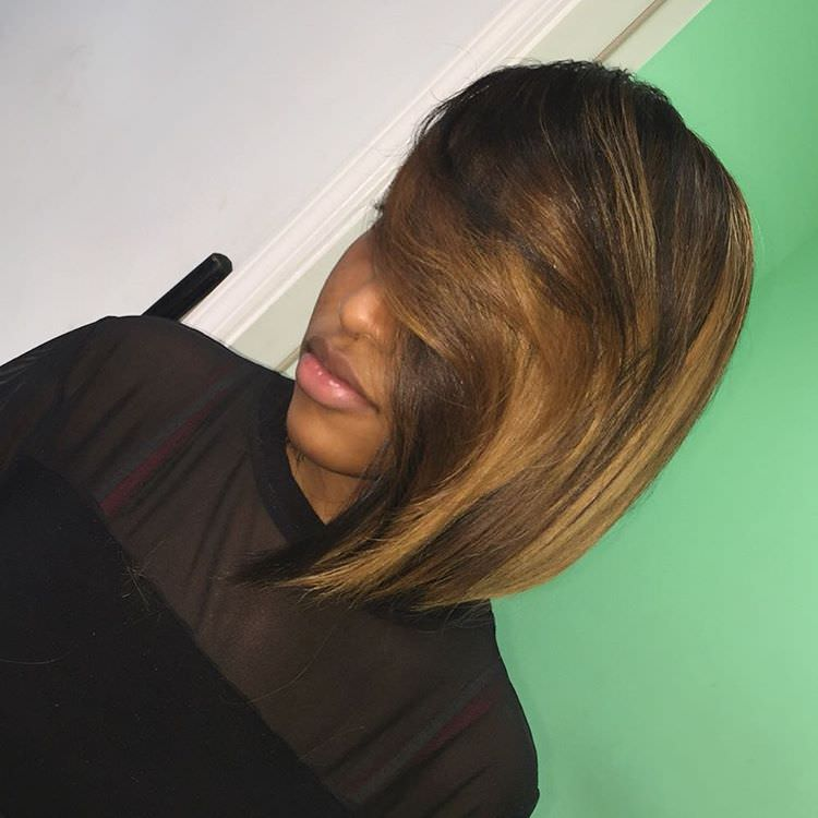 Swept Bob Hairstyle