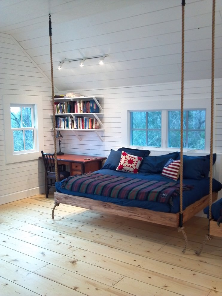 Comfy Tree House Bed Design