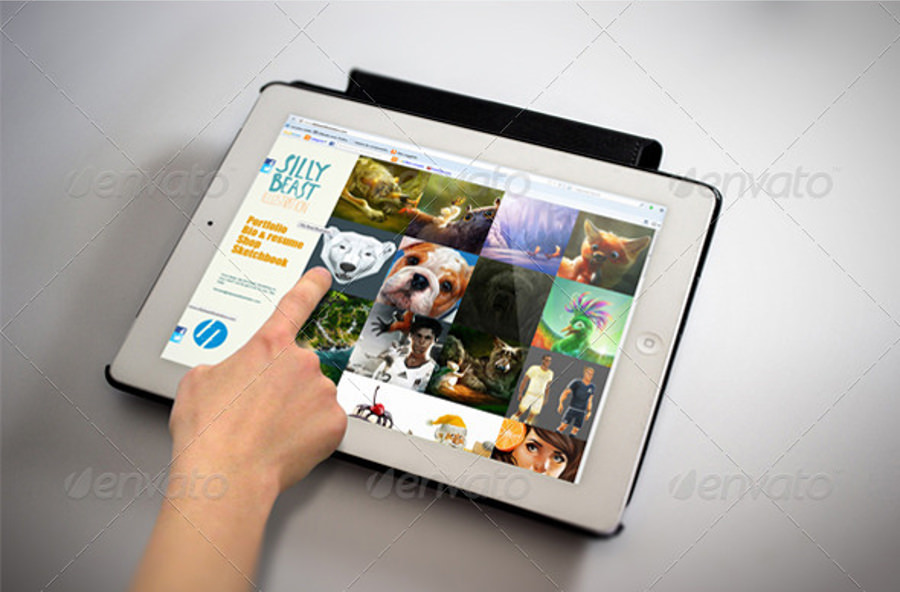 Amazing Designed Tablet Mockup