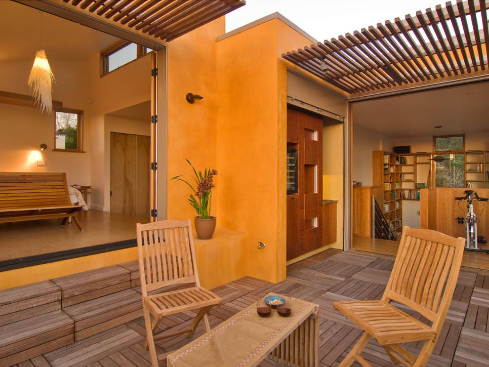 Open Patio Deck Design