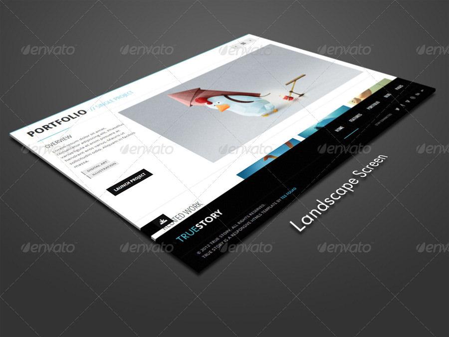 portfolio tablet mockup