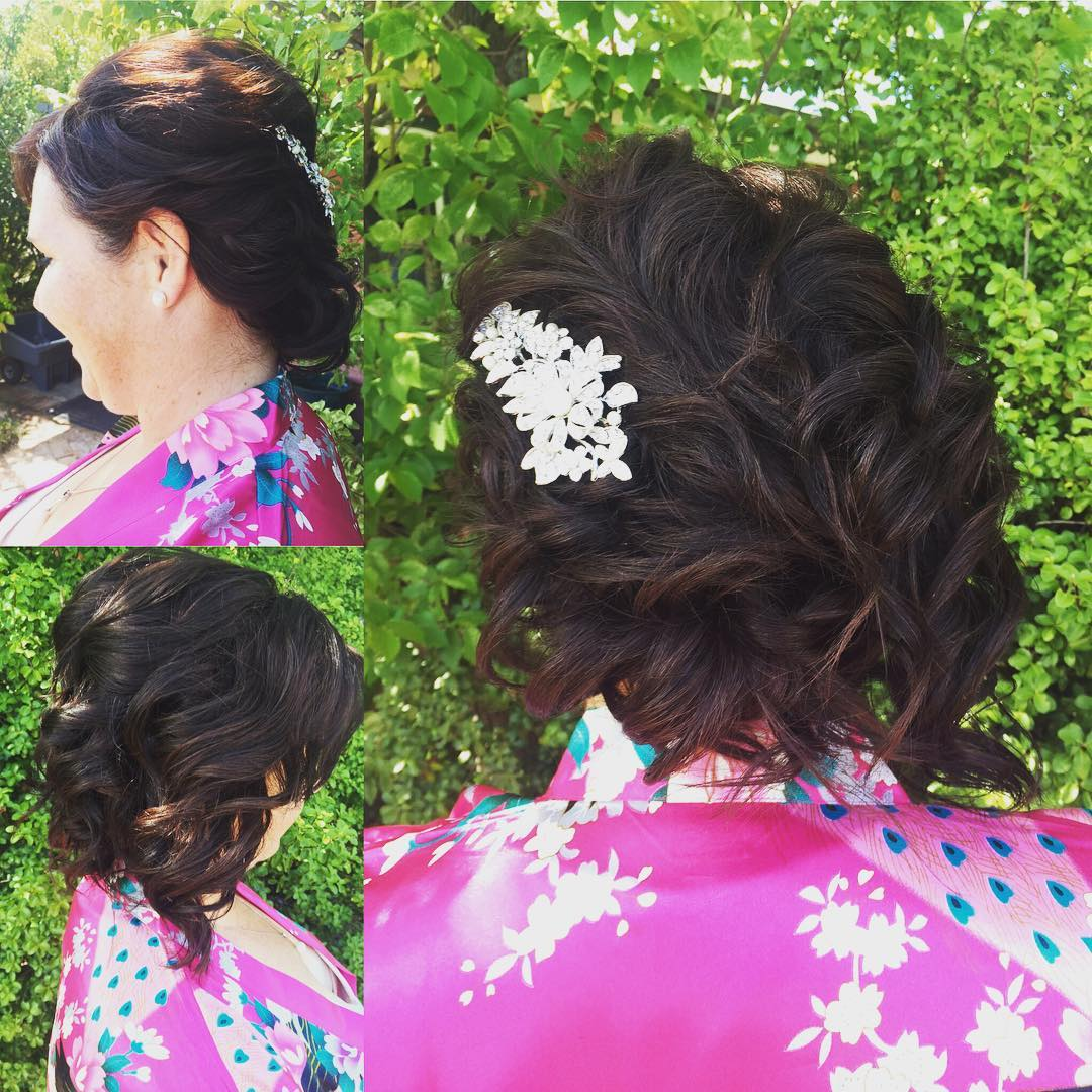 Upstyle Bridal Hair