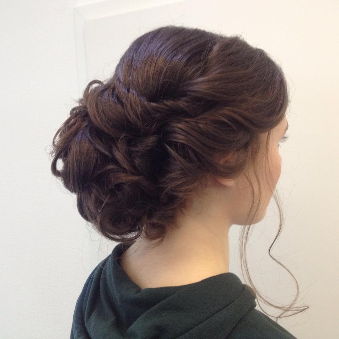 Pinup Hairstyle For Wedding