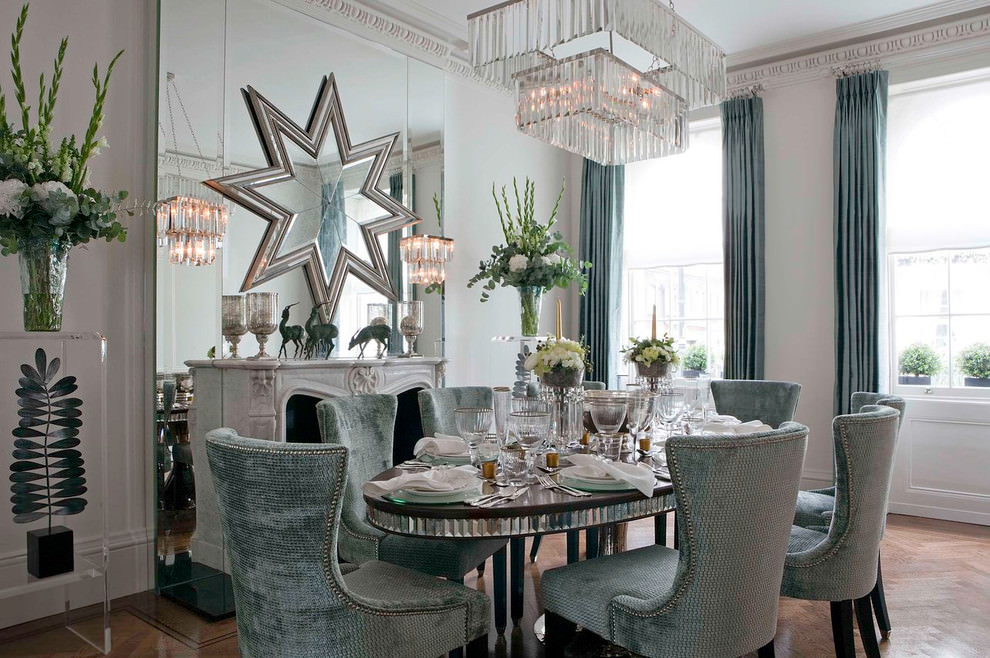 Crystal Decor Dining Room Design
