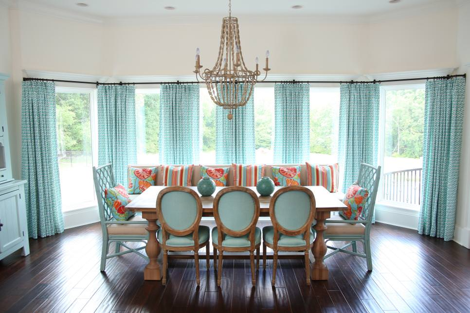 Costal Dining Room Decor Design