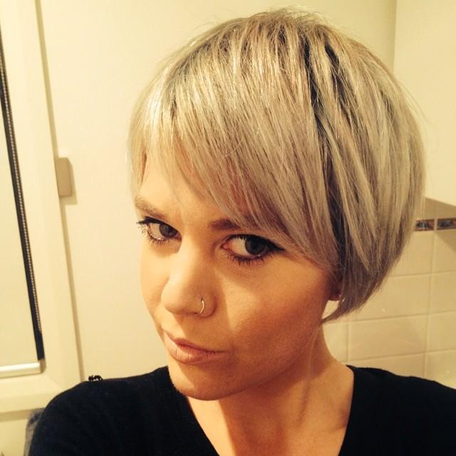 Easy Short Blonde Haircut