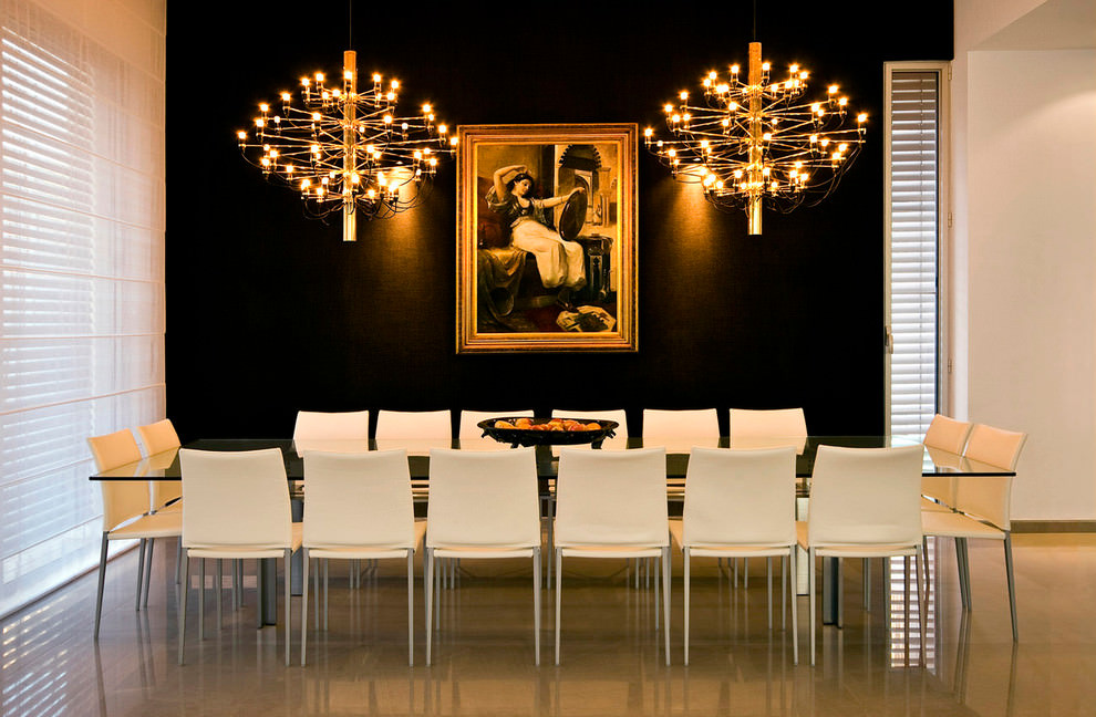 royal modern dining room design