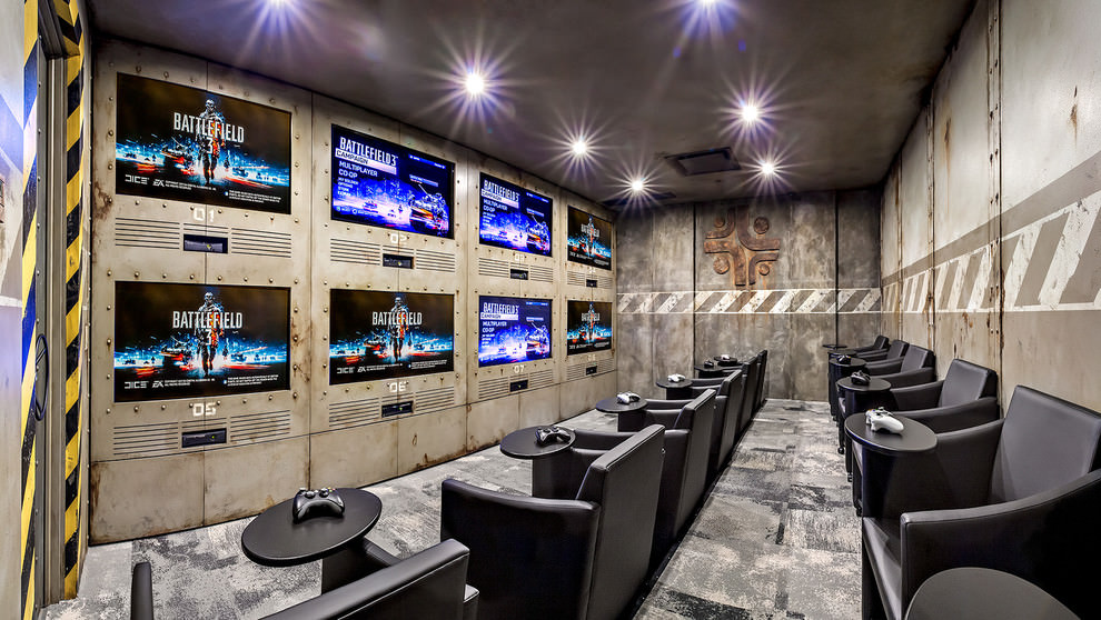 Modish Game Room Design