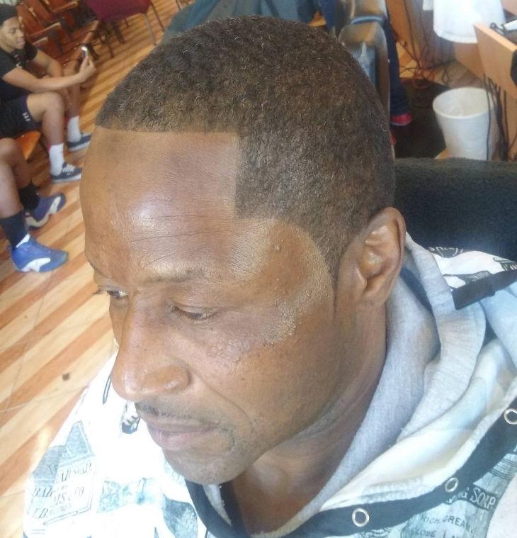 Small Bald Taper Fade Haircut