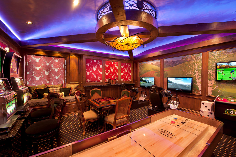 Stunning Game Room Design