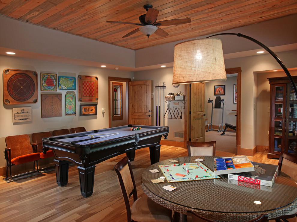 Modern Game Room Design