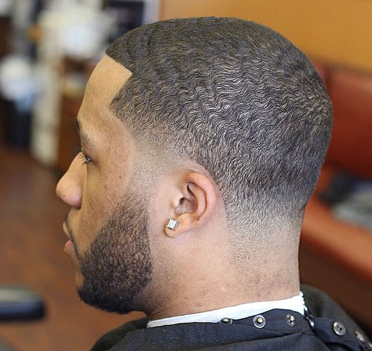 Retro Taper Haircut for Black Men