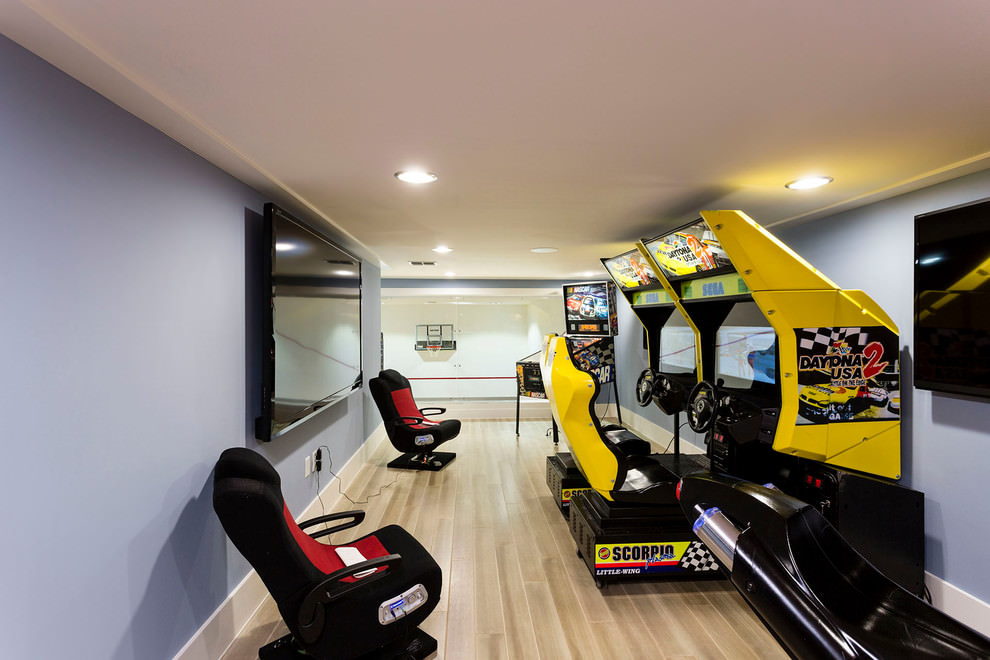 Contemporary Game Room Design