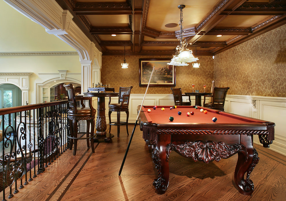 Royal Game Room Design