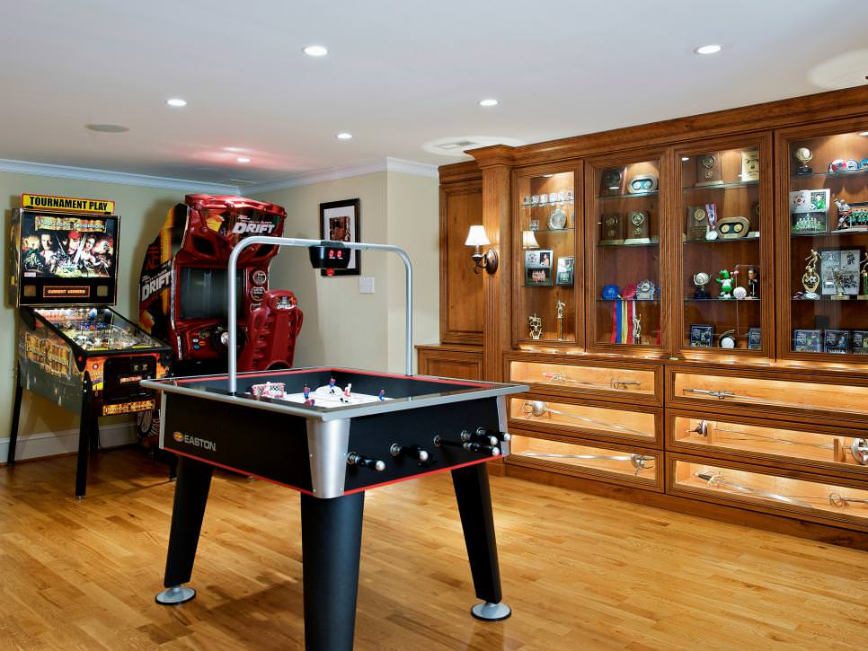 Basement Game Room Design