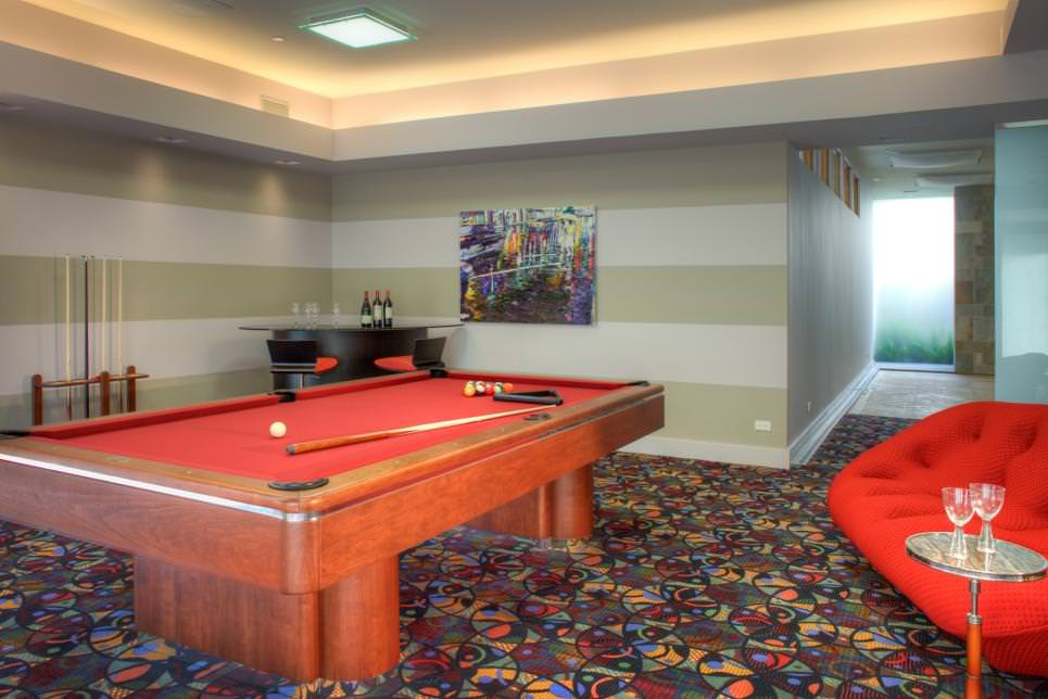 Funky Game Room Design