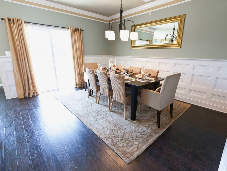 Elegant Transitional Dining Room design