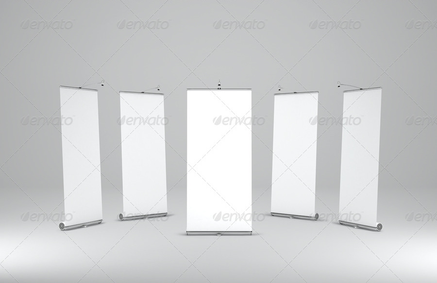 Custom Roll up Banner Mockup
