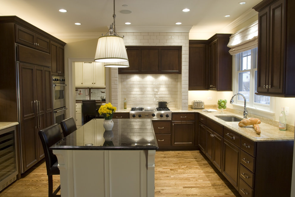beautiful l shaped kitchen design