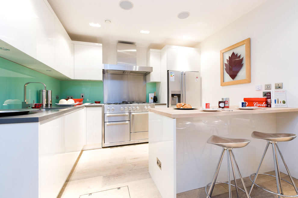 Awesome L shaped kitchen design