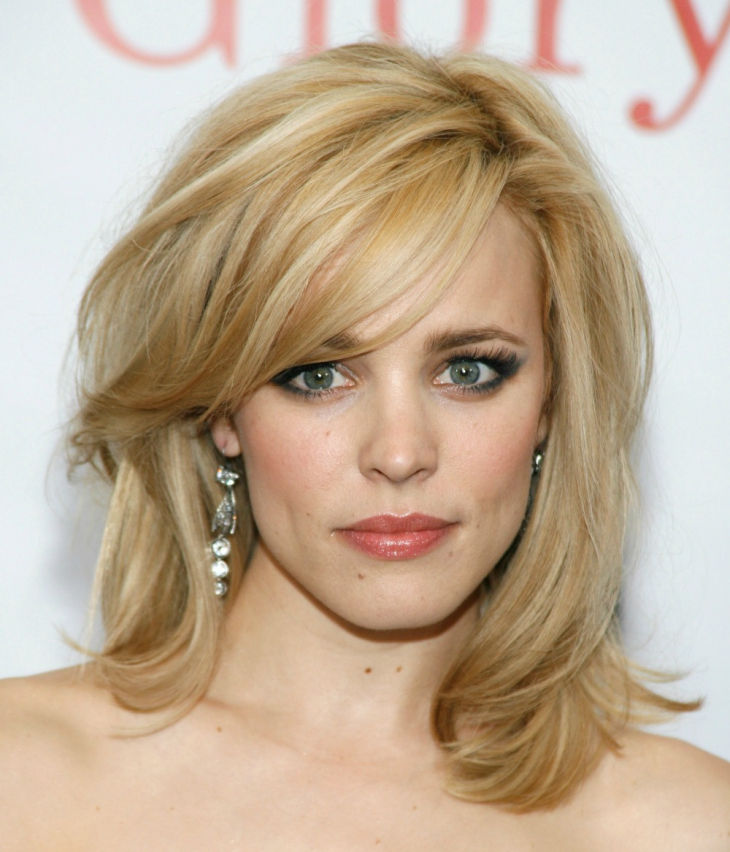 extreme medium hair layers by rachel mcadams