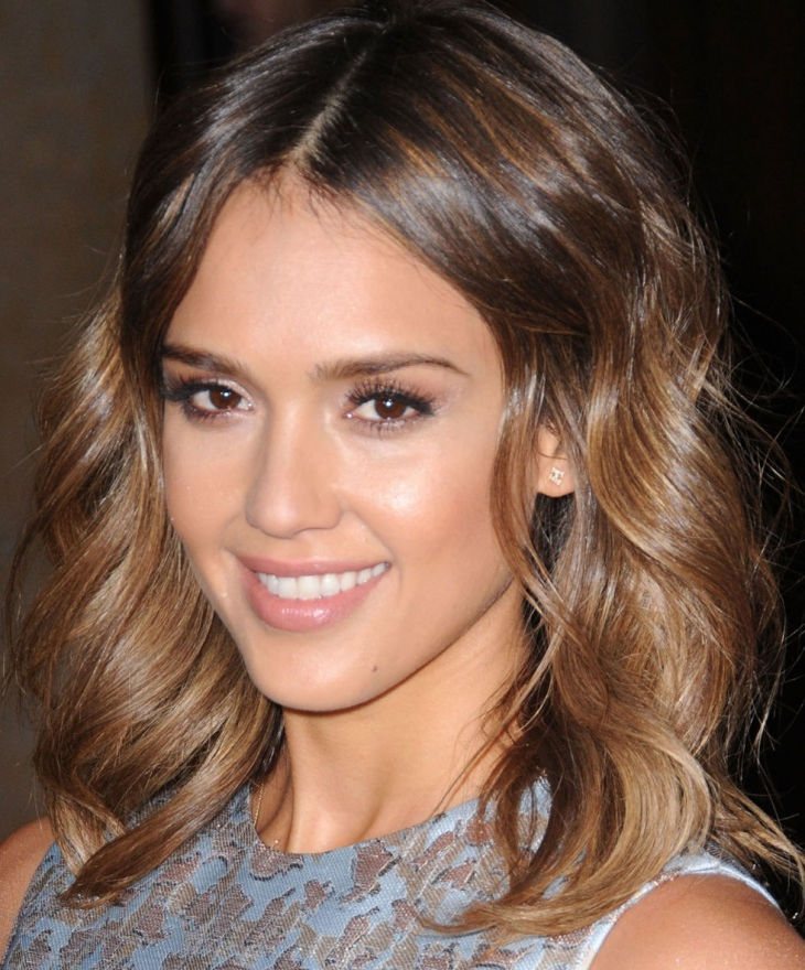 soft blonde waves by jessica alba