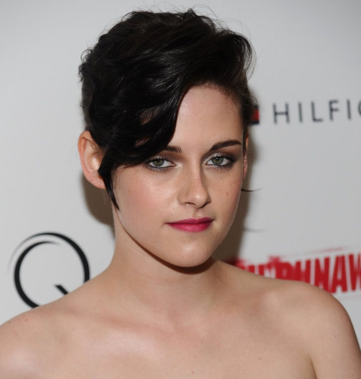 edgy haircuts look by kristen stewart