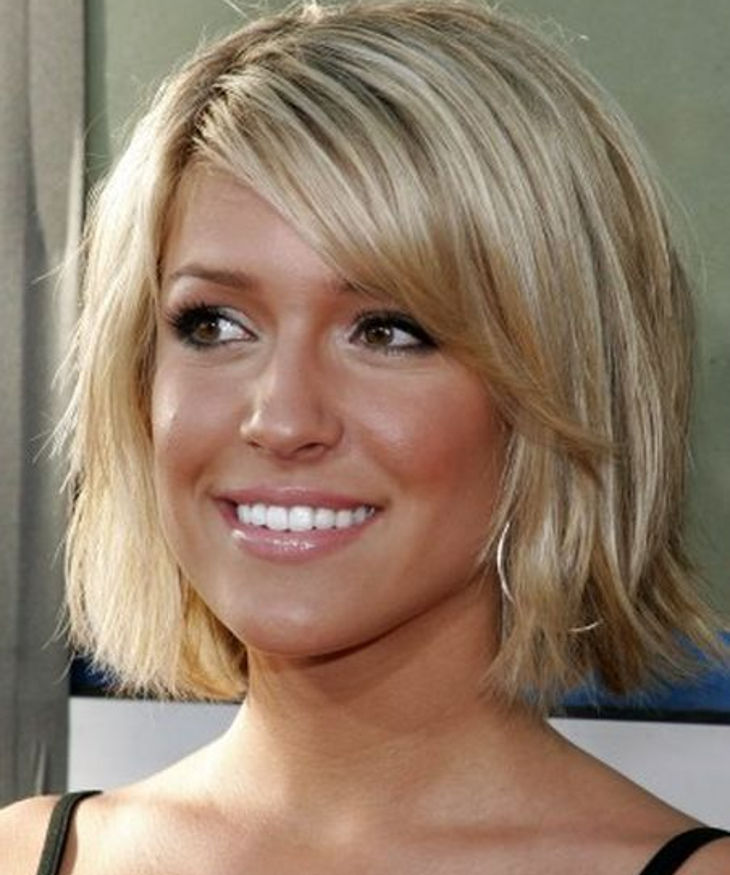 medium short haircut gives stylish outlook