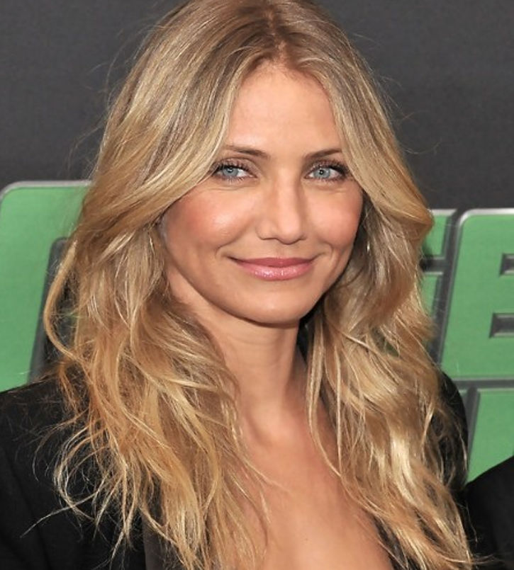 medium length hair by cameron diaz