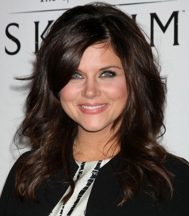 cute mid length hairstyles by tiffani thiessen