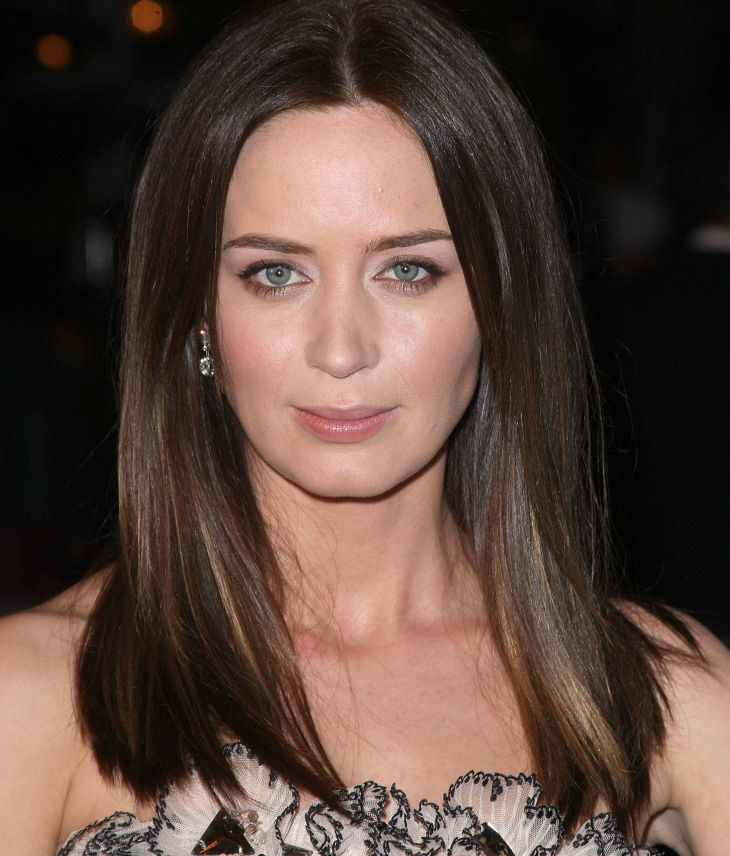 medium length thick tresses by emily blunt