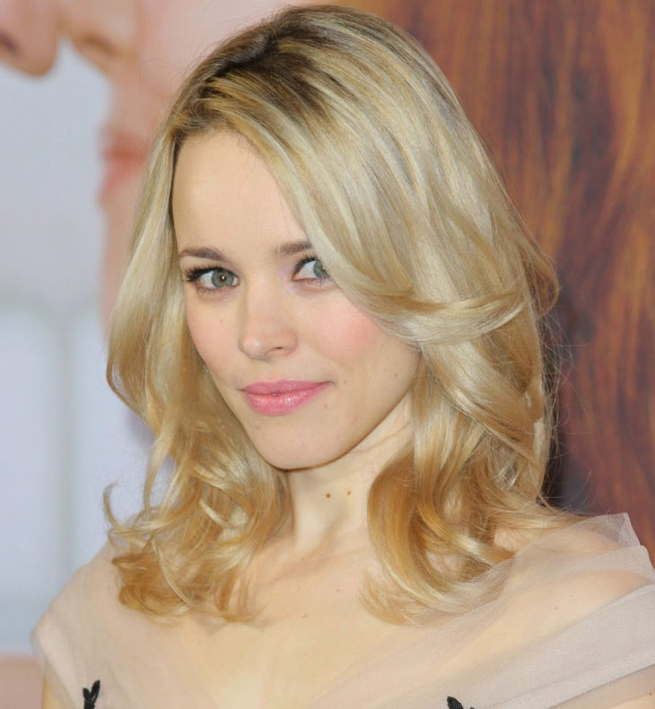 go medium with fine hair by rachel mcadams
