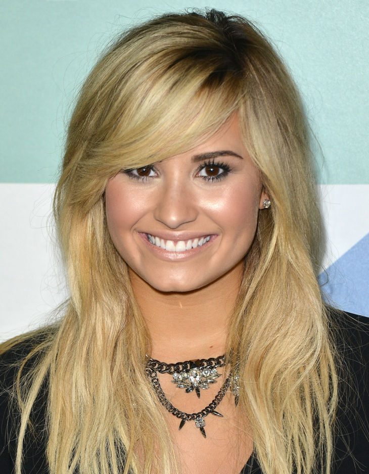 the regular medium cut by demi lovato