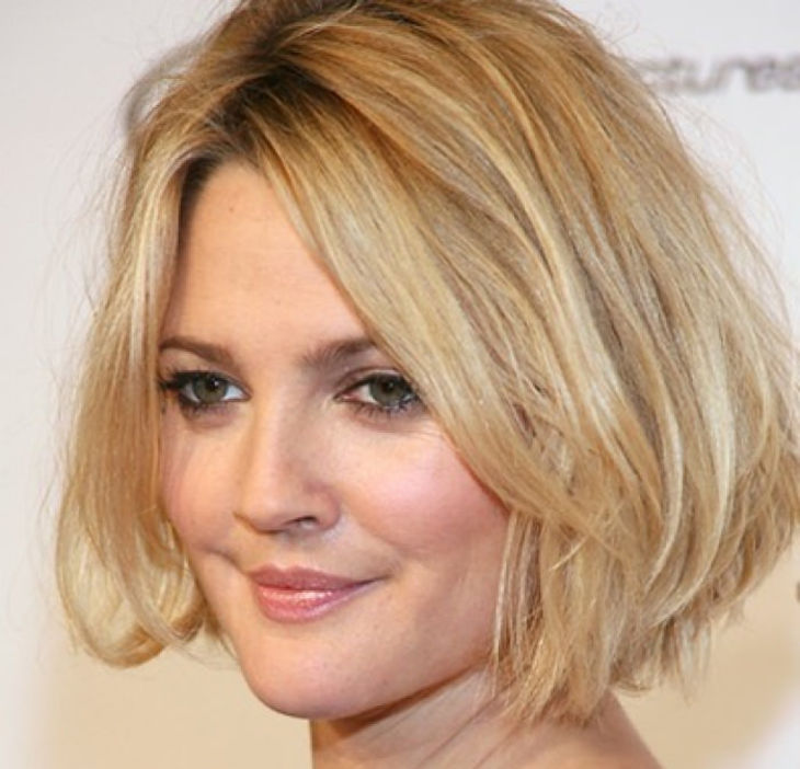 shag styled medium hairstyle