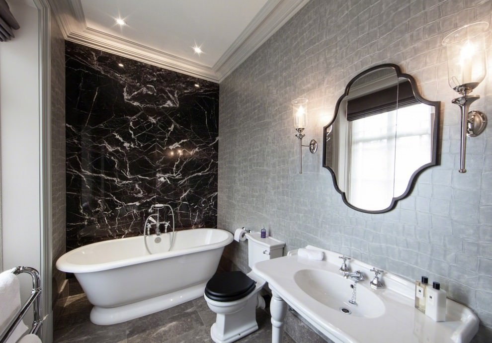 Classy Contemporary Bathroom Desgin