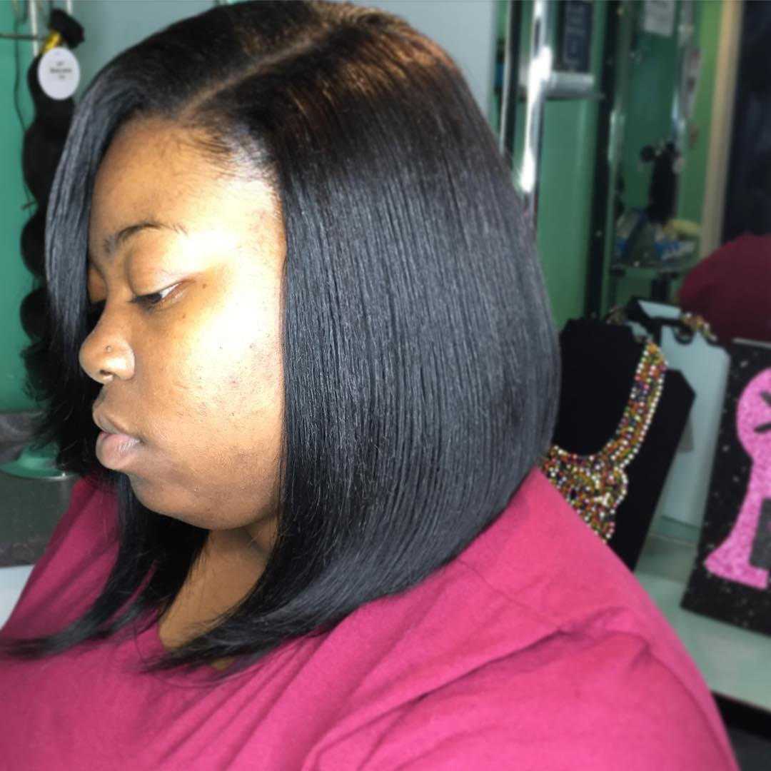 Soft Bob Weave Hairstyle