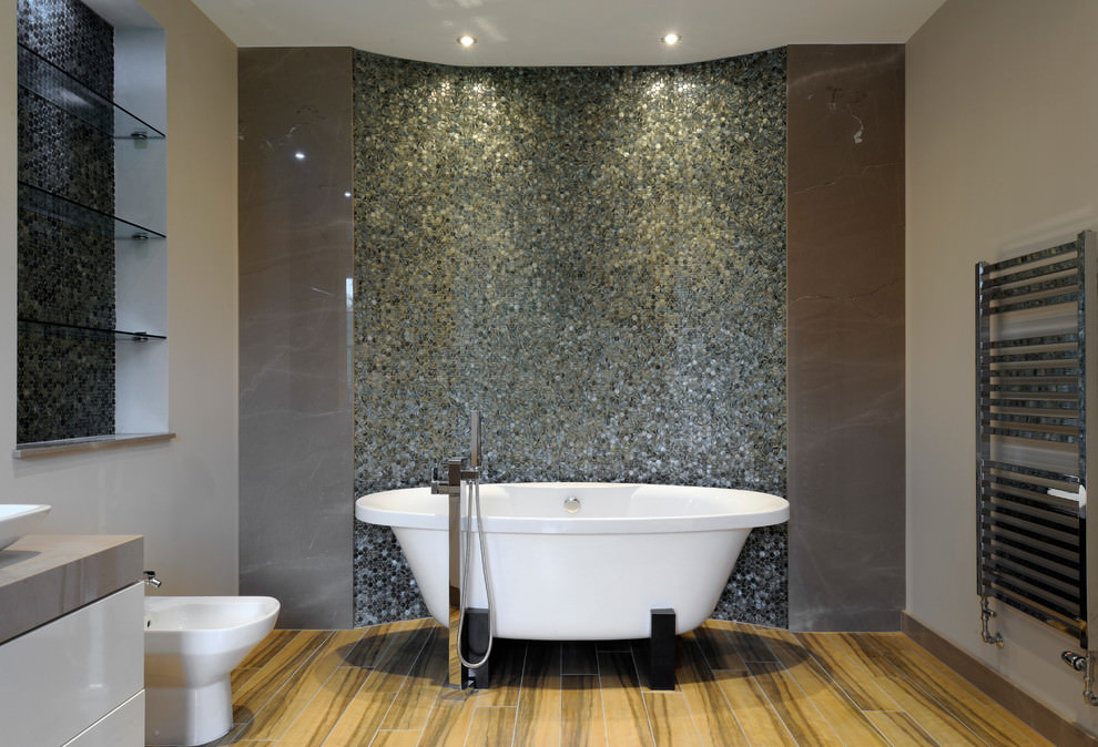 spa like contemporary bathroom