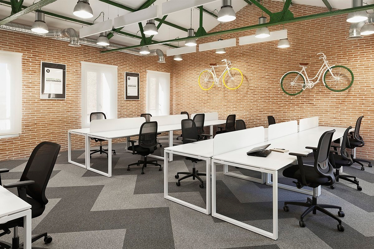 23 office space designs decorating ideas design trends for Design an office space layout online