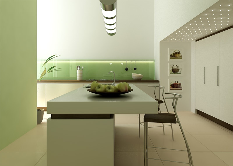 classy comtemporary kitchen design