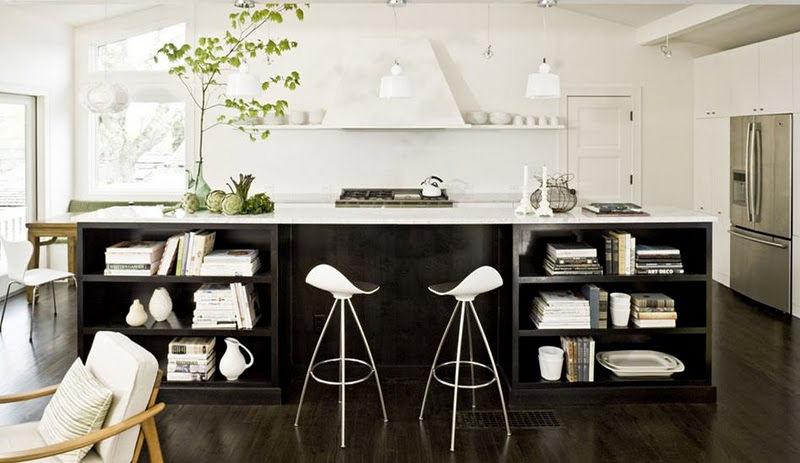 black comtemporary kitchen design1