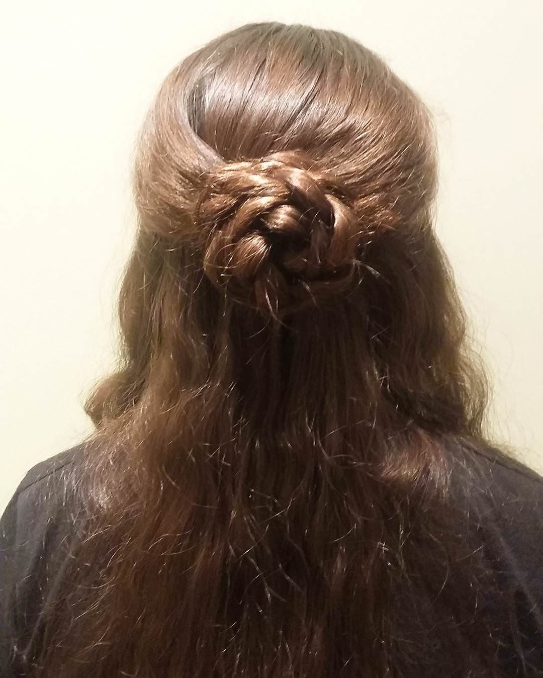 Silky & Medieval Hairstyle