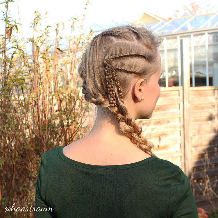 trendy medieval hairstyle1